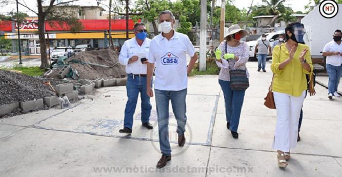 Entregará Chucho Nader Insumos de Sanitización y Limpieza a Escuelas