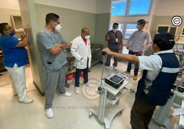 ADQUIERE EL ISSSTE 50 VENTILADORES MÁS DE TERAPIA INTENSIVA PARA DISTRIBUIRLOS EN LAS 112 UNIDADES MÉDICAS DE TODO EL PAÍS