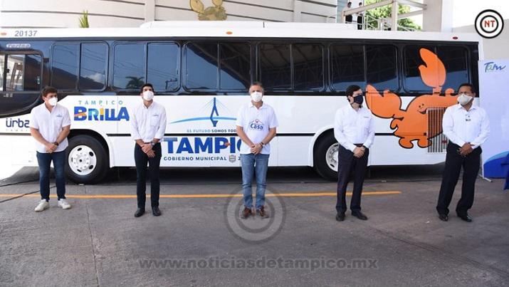 Dona Grupo Transpaís Moderna Unidad para el Traslado de Deportistas Tampiqueños