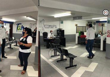 Visita Módulo Zona Centro Tampico Gerente de Comapa
