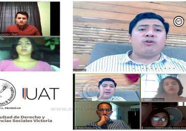 Disertan en la UAT tema sobre polarización política y COVID-19