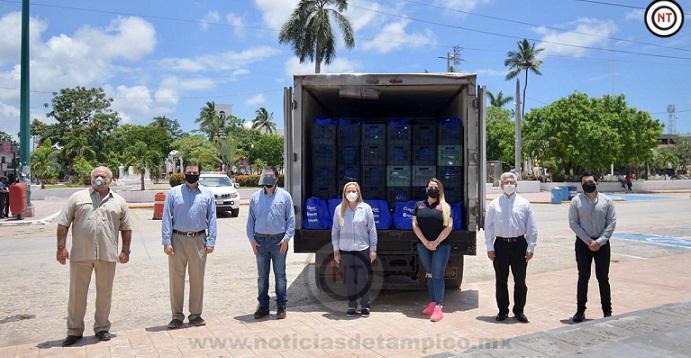Gobierno de Altamira e iniciativa privada suman esfuerzos en beneficio de sectores vulnerables