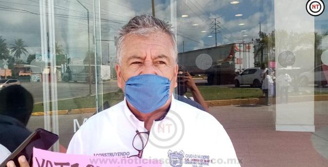 Doce casos de choferes sin  cubrebocas ha reportado ayuntamiento de Madero.