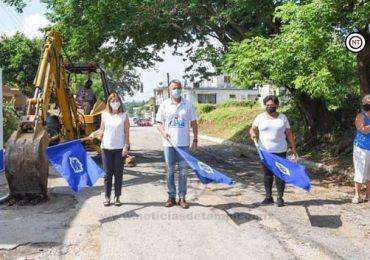 Pone en Marcha Chucho Nader Más Obras de Pavimentación