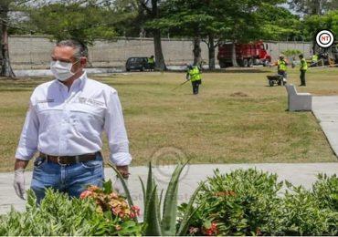 Refuerzan rehabilitación de áreas verdes en Ciudad Madero