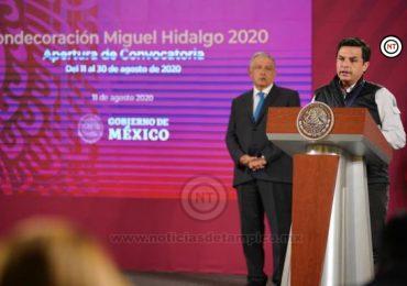 PRESENTAN CONVOCATORIA A LA CONDECORACIÓN MIGUEL HIDALGO 2020 PARA PREMIAR AL PERSONAL DE SALUD QUE HA AYUDADO A COMBATIR EL COVID-19