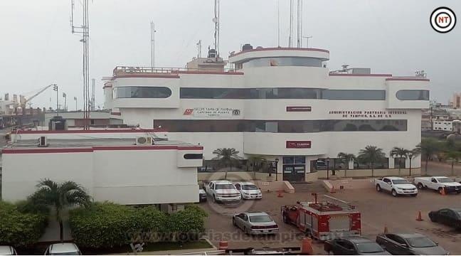 Toma Marina control de Puerto de Tampico
