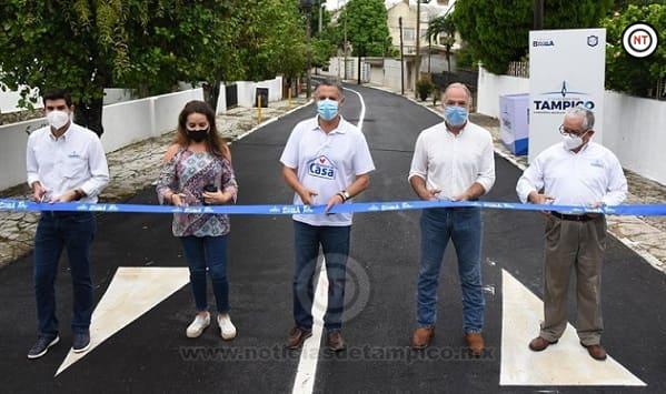 Cumple Chucho Nader con Más Obras de Pavimentación