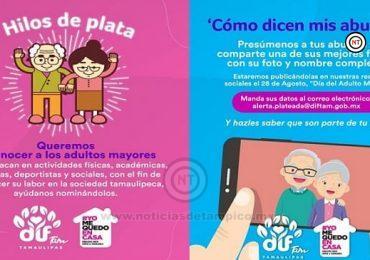 Invita DIF Tamaulipas a celebrar a las y los abuelitos de Tamaulipas