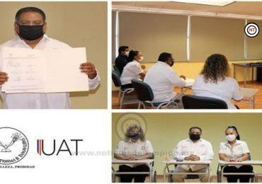Firman convenio específico la UAT y Universidad de Seguridad y Justicia