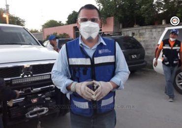 Refuerza Congreso local entrega de apoyos a familias Reynosa.