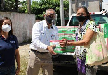 Se solidariza Refinería Madero de PEMEX con vendedores de Playa Miramar