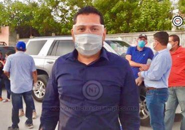 Es momento de ayudar no de hacer política: Ricardo Moreno.