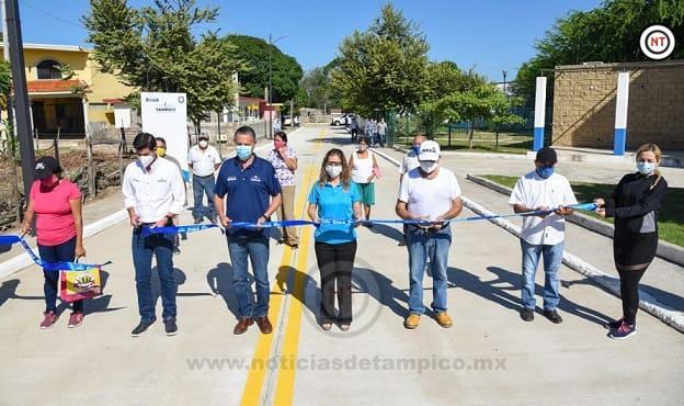 Seguimos Cumpliéndole a Tampico con Más Pavimentación: Chucho Nader
