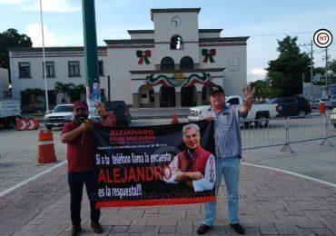 Altamirenses recaban firmas para que se enjuicie a ex presidente