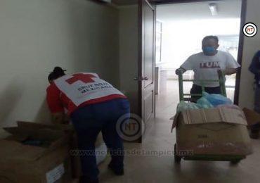 Dotan a Cruz Roja, zona sur de equipo de bioseguridad