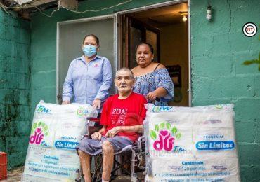 Continúa DIF Tamaulipas llevando apoyos Sin Límites