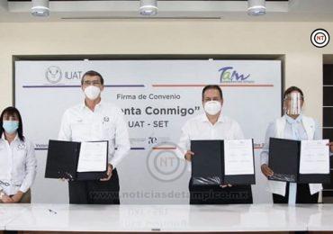 UAT y SET suman esfuerzos para fortalecer educación en Tamaulipas