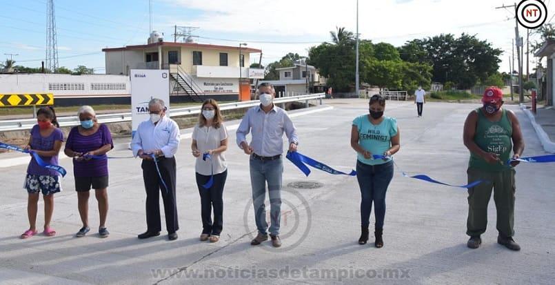 Garantiza Chucho Nader Mayor Conectividad Vial entre Tampico y Altamira