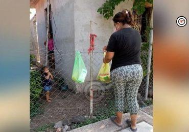 Promueven la  campaña #MOÑOROJO en la zona rural de Altamira