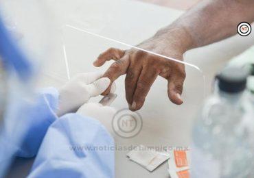 Aplica municipio más de 300 pruebas rápidas