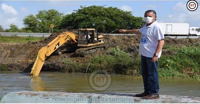 Moderniza Chucho Nader la Red Hidráulica de Tampico