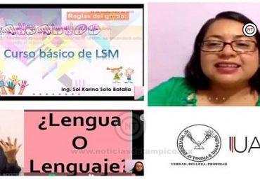 Imparte UAT en línea curso de Lengua de Señas Mexicana