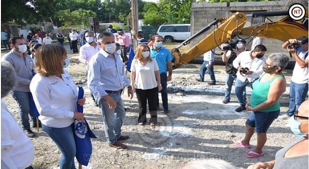 Cumple Chucho Nader con Nuevas Obras de Pavimentación