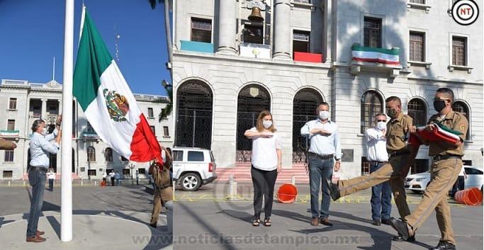 Conmemora Chucho Nader 199 Aniversario de la Consumación de la Independencia