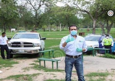 Pide Rivas prudencia en uso de espacios públicos