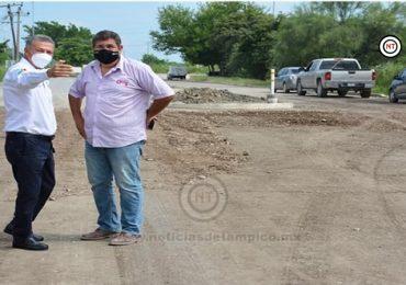 """""""Guerra sucia"""" y campañas de desprestigio no detendrán la buena marcha del gobierno  de El Mante; se avanza en infraestructura"""