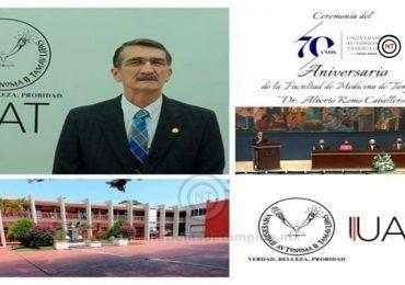 Facultad de Medicina UAT Tampico celebra 70 años de su fundación