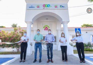 Reinauguran Chucho y Aida el Centro de Rehabilitación Integral de Tampico