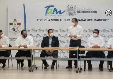 Entrega SNTE-SET nombramientos a maestros de la Normal J. Gpe. Mainero
