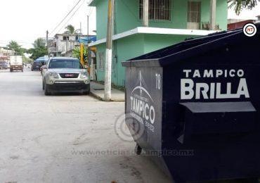 Ha caído con Pie Derecho Programa Piloto de Recolección de Basura en Colonias Populares: Servicios Públicos de Tampico