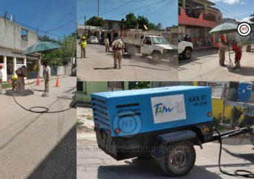 Atiende Comapa oportunamente fuga de agua en Madero