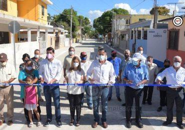 Inaugura Chucho Nader Obras de Pavimentación en la Morelos