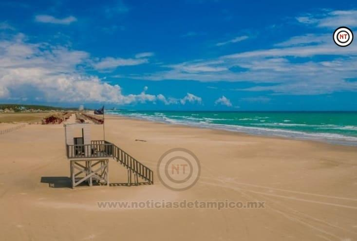 Reabrirán playa Miramar.