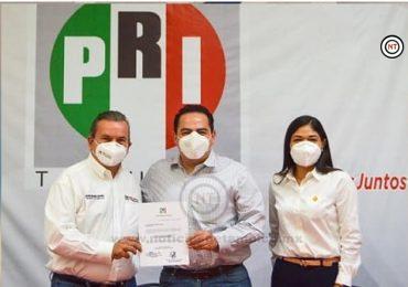 Entrega Melhem nombramientos a  delegados del PRI en municipios