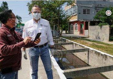 Oseguera encabeza incansable labor para mitigar inundaciones