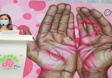 Fortalece DIF Tampico Programas Preventivos contra el Cáncer de Mama