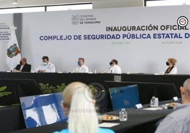 Tiene Tamaulipas infraestructura en seguridad sin precedentes