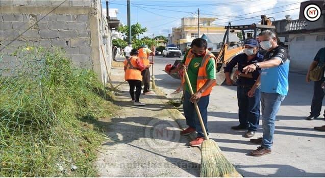 La Limpieza de Tampico es un Compromiso Permanente de Nuestro Gobierno; Chucho Nader