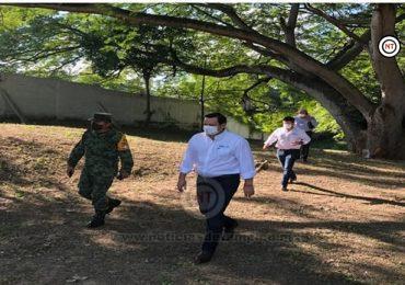 Atiende Comapa peticiones en el 15/o Batallón de Tampico