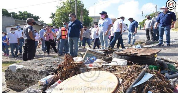 Encabeza Chucho Nader Amplia Jornada de Limpieza en la Obrera