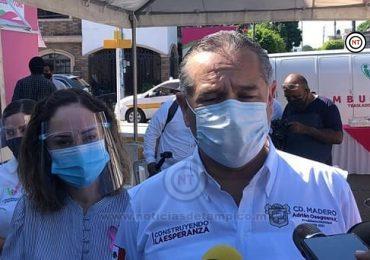 Asegura alcalde de Madero que no es obligatorio ir a la playa.