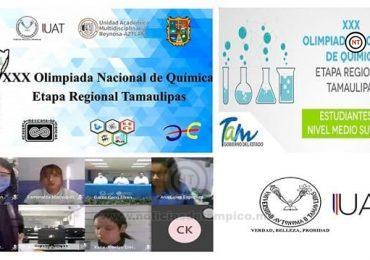 Realizan en la UAMRA-UAT etapa regional de la Olimpiada Nacional de Química
