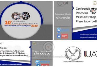Invita la FDCSV-UAT a Jornadas de Investigación y Posgrado