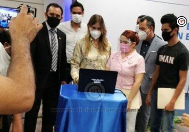 Histórico impulso de Maki Ortiz para la educación en Reynosa