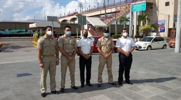 Se Manifiestan Marinos Mercantes; Advierten de una Militarización Total en Puertos
